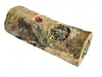 Vitapol Tunel drewniany z sianem dla gryzoni - M