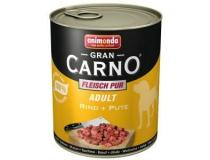 ANIMONDA  GRAN CARNO  400 g  indyk z wołowiną