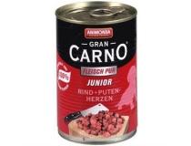 ANIMONDA  GRAN CARNO JUNIOR   400 g  wołowina , indyk , serca