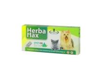 SELECTA Herba MAX krople na pchły  dla psów małych ras